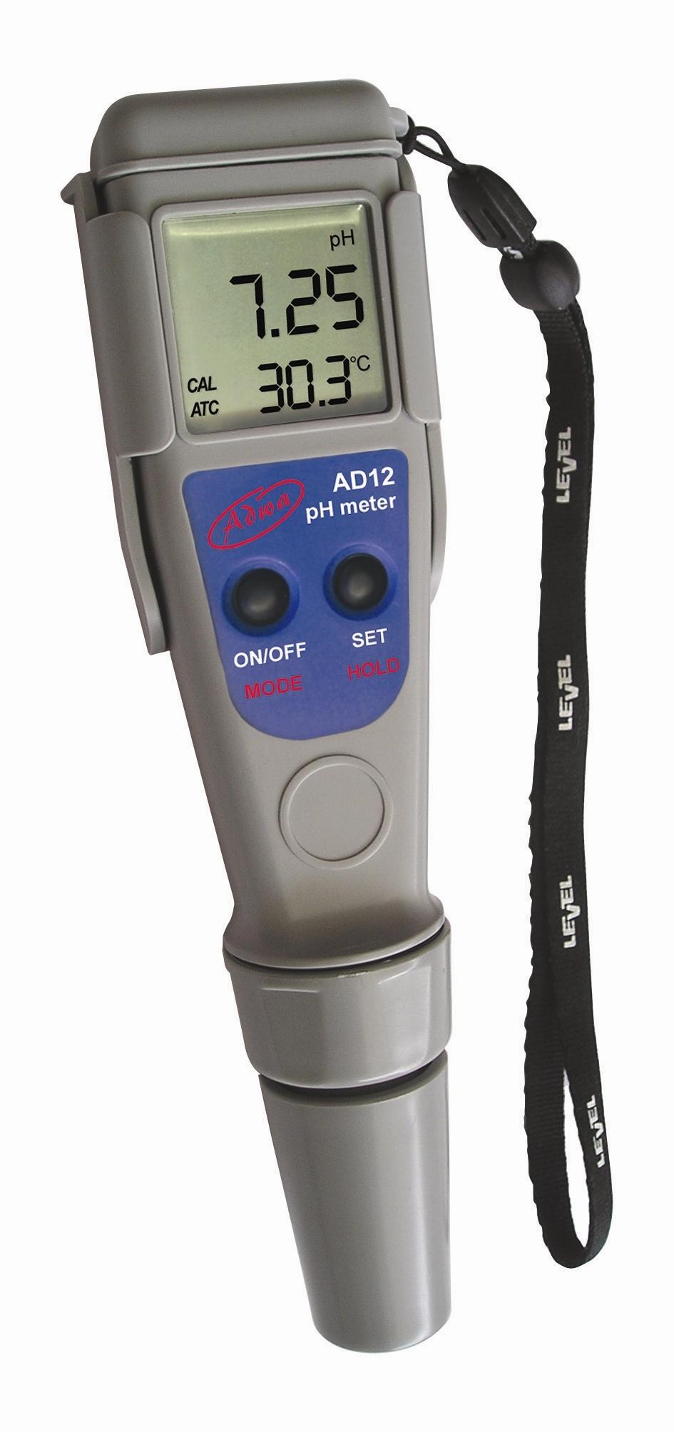 Adwa AD12 pH mérő és hőmérséklet teszter