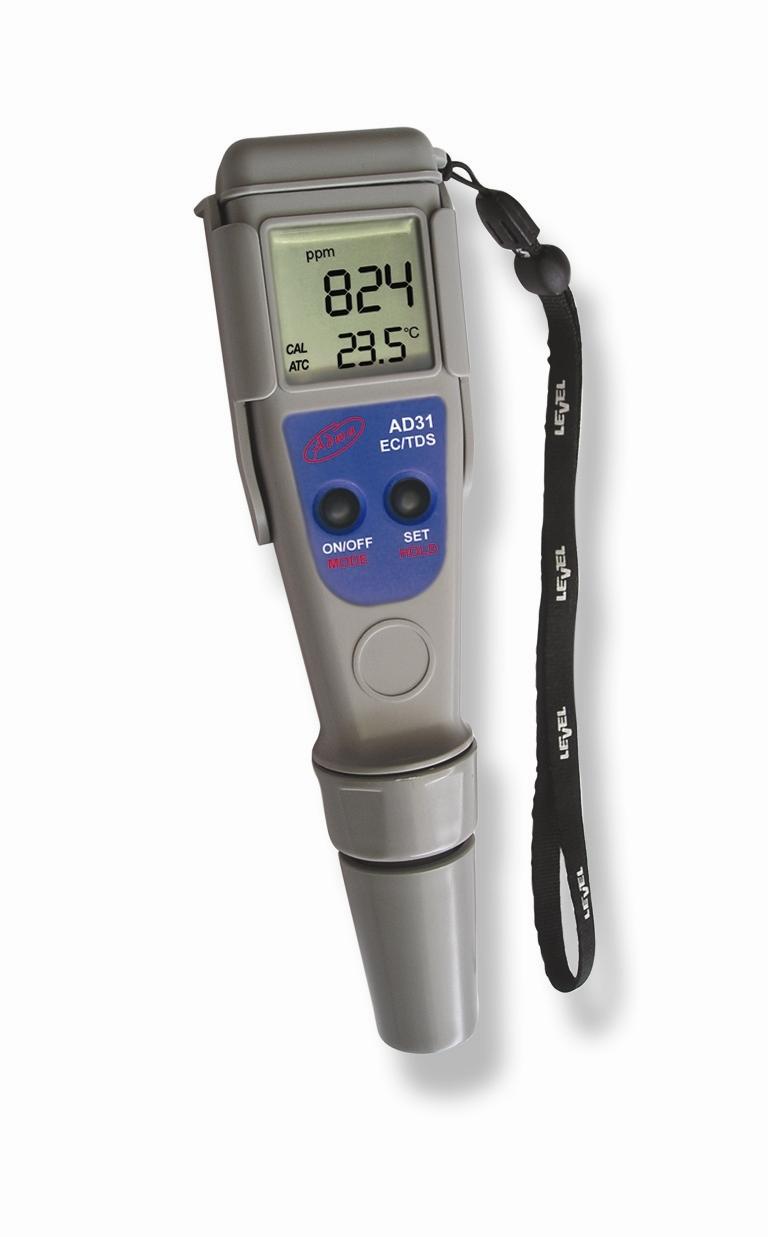 Adwa AD31 EC,TDS mérő és hőmérséklet teszter