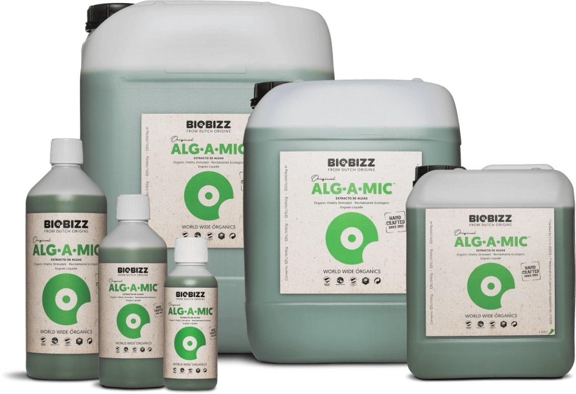 BioBizz Alg A Mic stresszoldó és termékenység fokozó kiegészítő növénytáp 500ml
