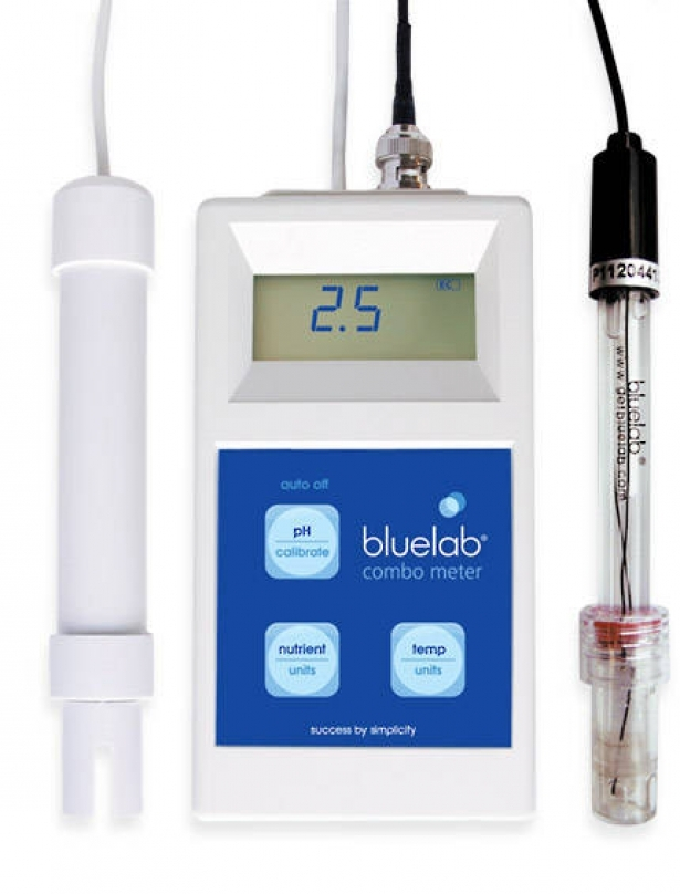 Bluelab COMBO EC és pH mérő