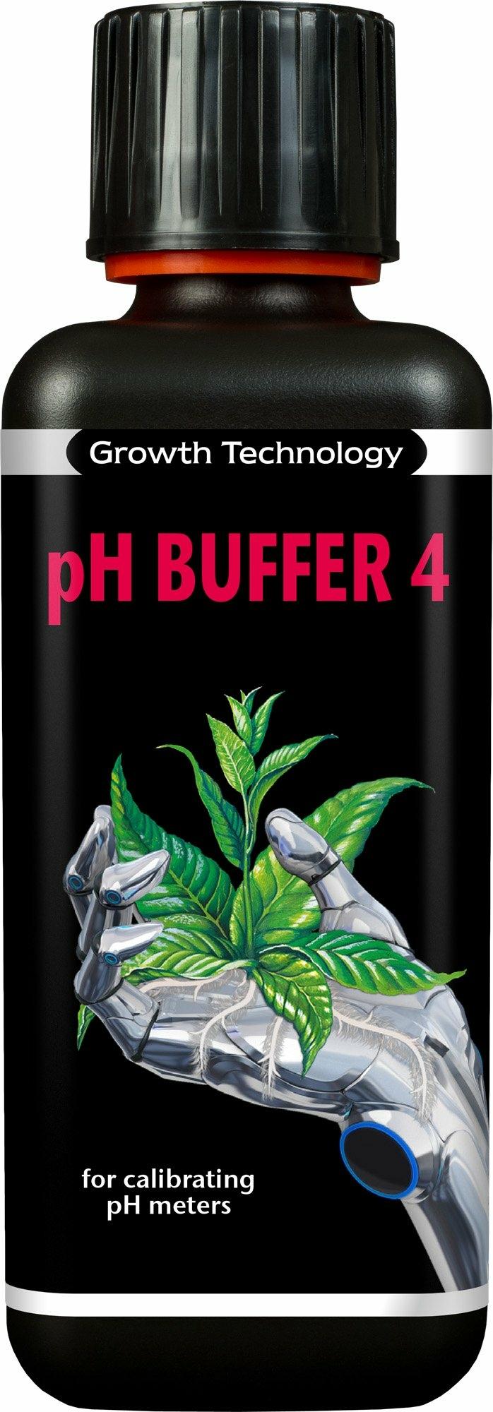 Growth Technology pH 4 kalibráló folyadék 300 ml