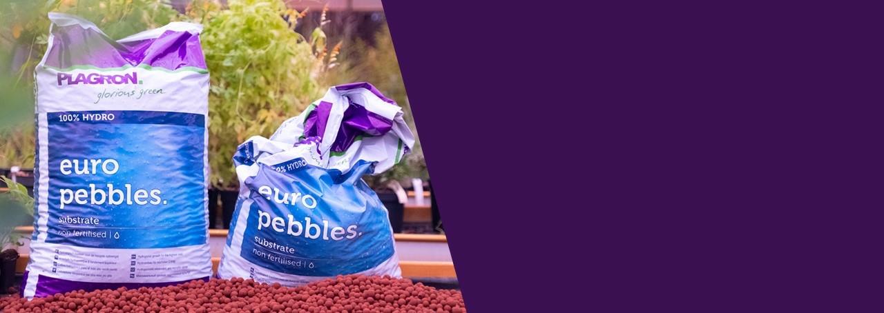 Plagron Euro pebbles agyaggolyó kiváló minőségű inert hidroponikus termesztőközeg