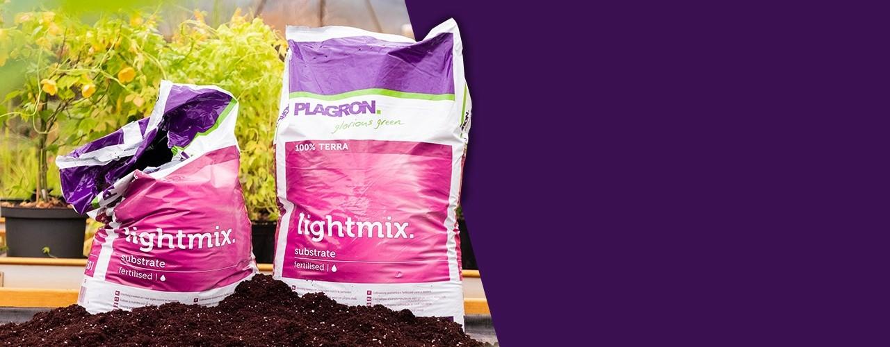 Plagron Lightmix Perlittel a legjobb, gondosan kiválasztott tőzegfajták keveréke