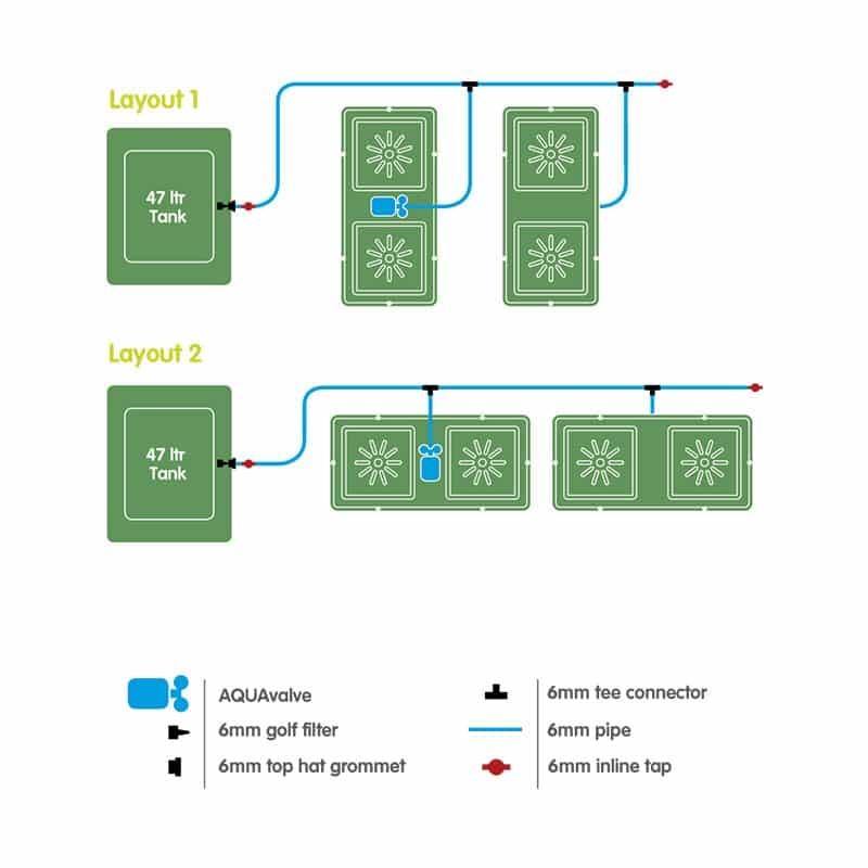 AutoPot Easy2Grow 4 cserepes növénytermesztő rendszer szett