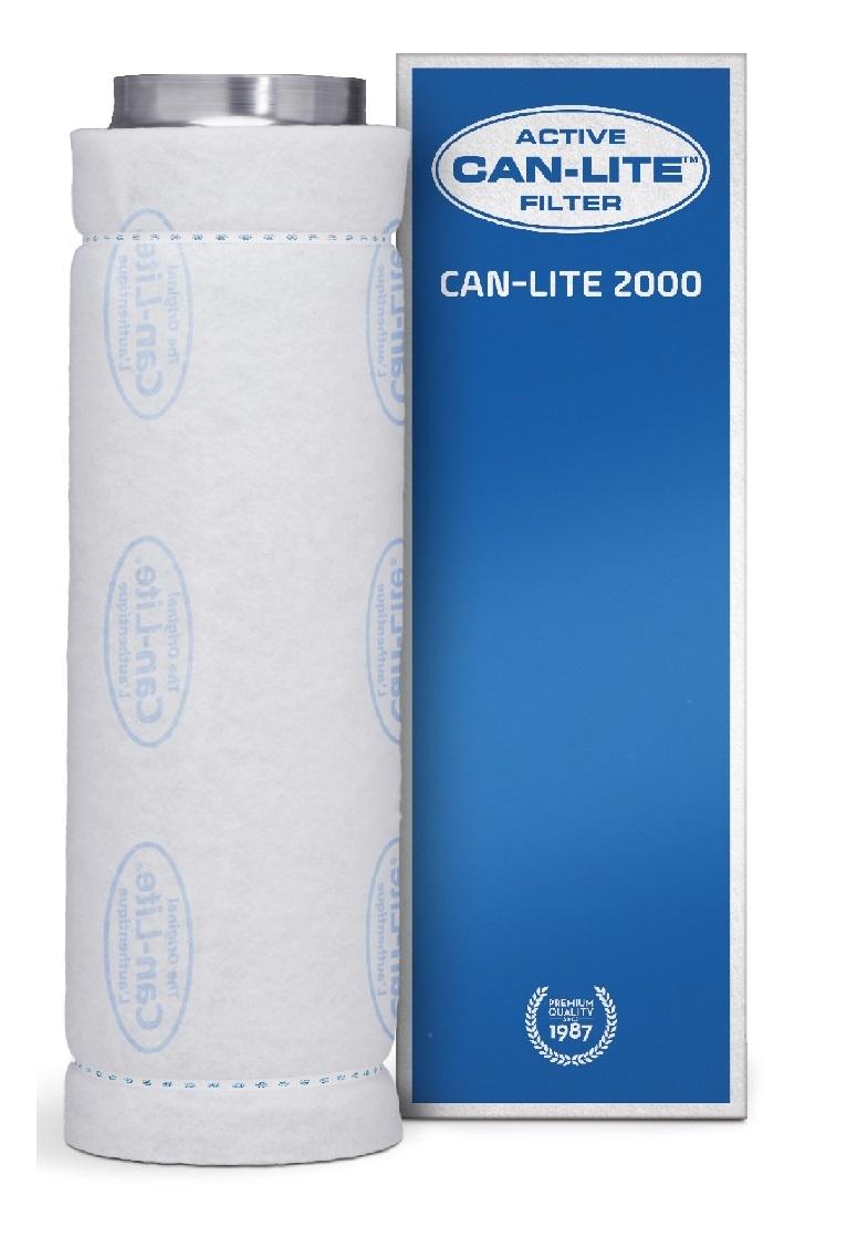 Can Lite aktív szénszűrő 2000 m³/h 250 mm-es csatlakozóval