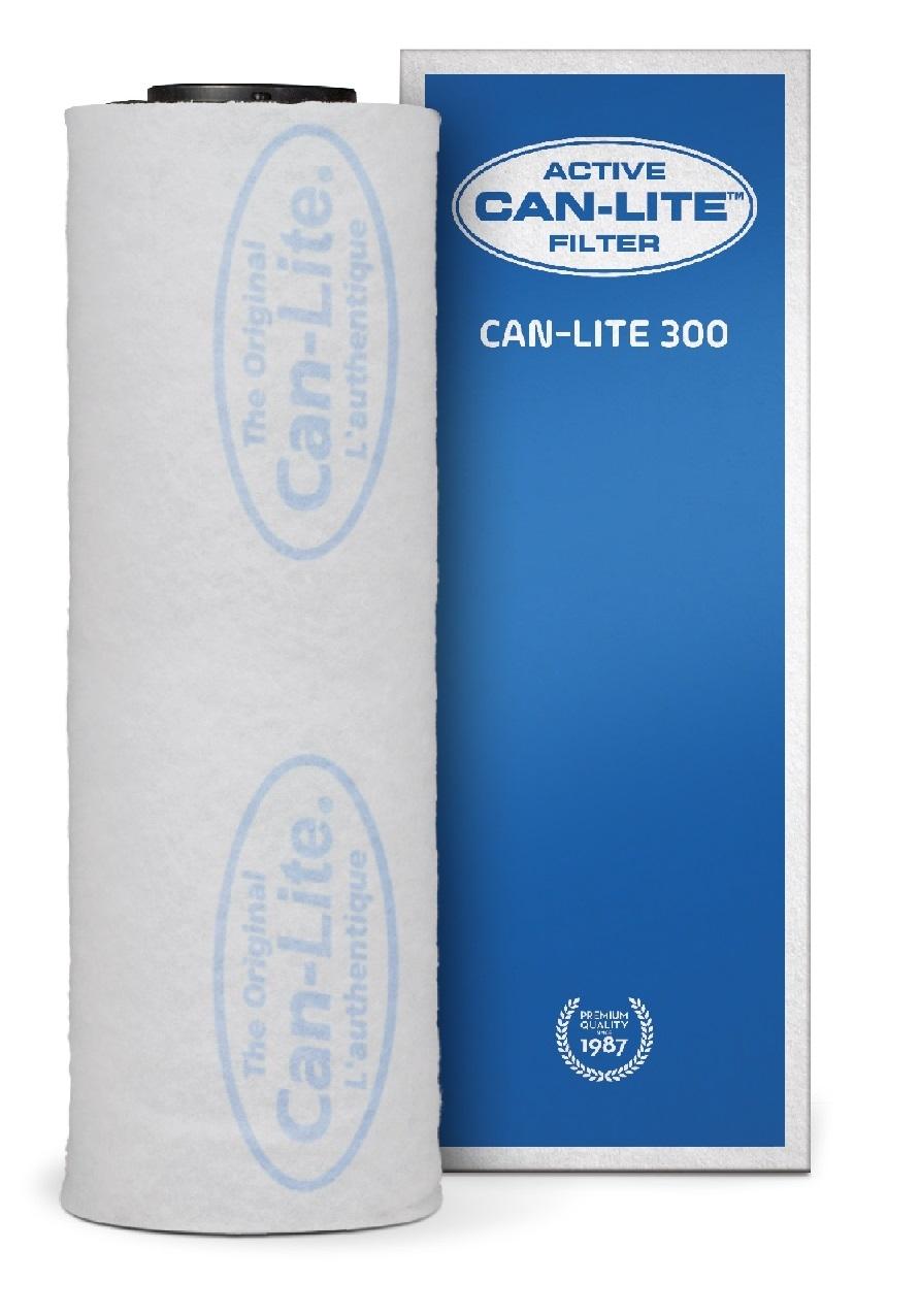Can Lite aktív szénszűrő 300 m³/h 100 vagy 125 mm-es csatlakozóval