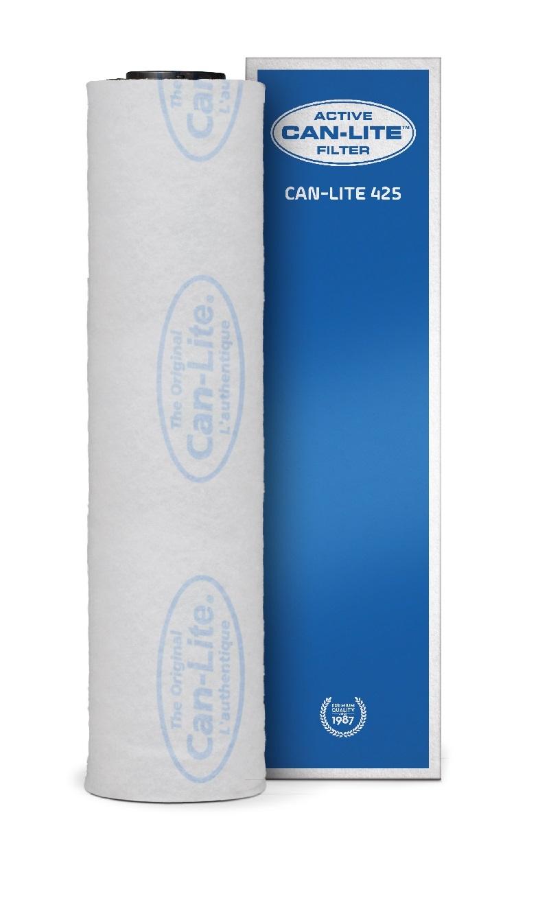 Can Lite aktív szénszűrő 425 m³/h 100 vagy 125 mm-es csatlakozóval